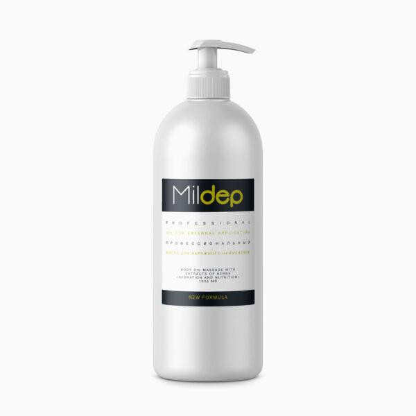 Mildep, масло для тела массажное