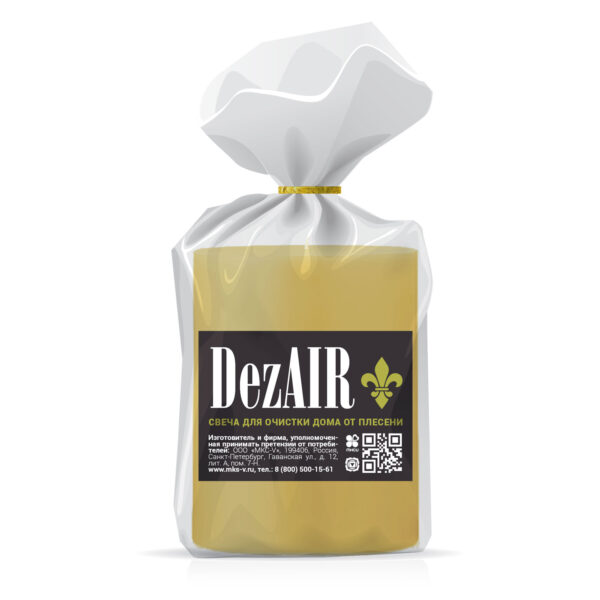 Свеча DezAIR для очистки дома от плесени